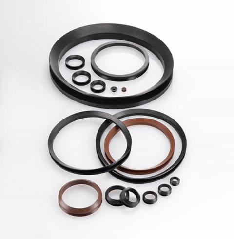 Rubber V-ring