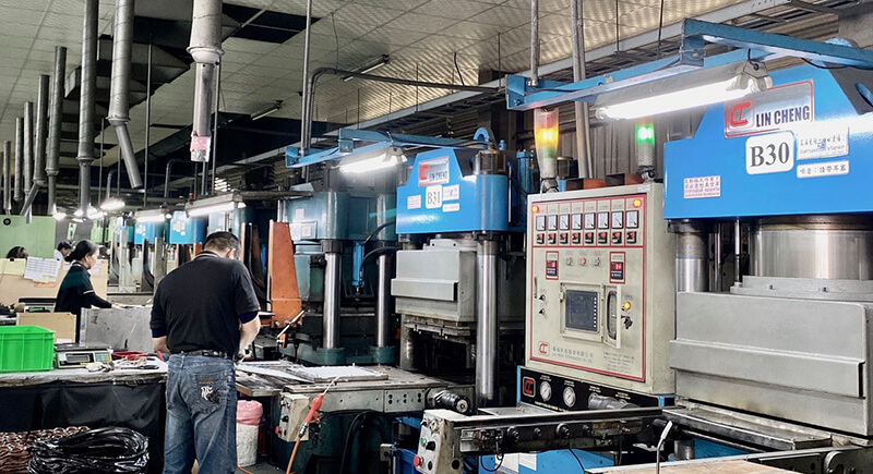 Compression Molding Machine for Rubber Products