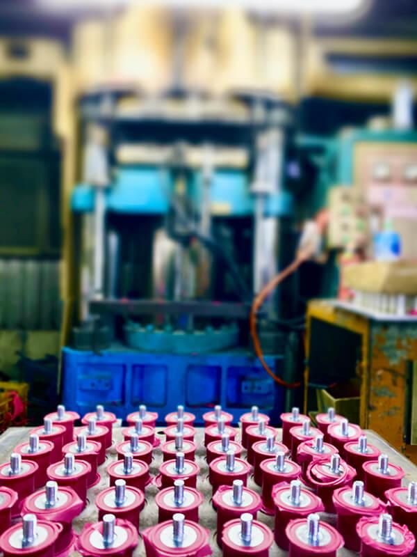 Compression Molding Machine for Rubber Parts